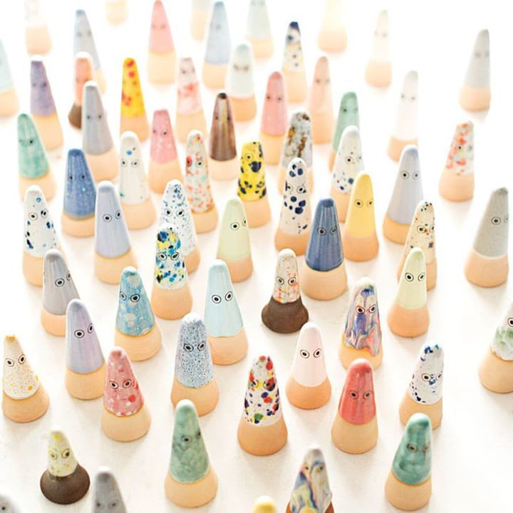 GHOSTS by Studio Arhoj have arrived in store from Denmark. Cute collectable and creative - ghosts will be whatever you'd like them to be.  #studioarhoj #ghosts