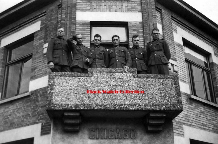 German soldiers in Chicago pre-WW2.