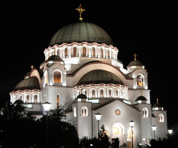 Hram Svetog Save Beograd  Belgrade Serbia