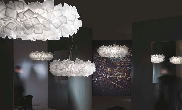 CLIZIA Fumé - Gallery lighting by Slamp :: Get Slamp lighting fitting from Skialight.co.uk