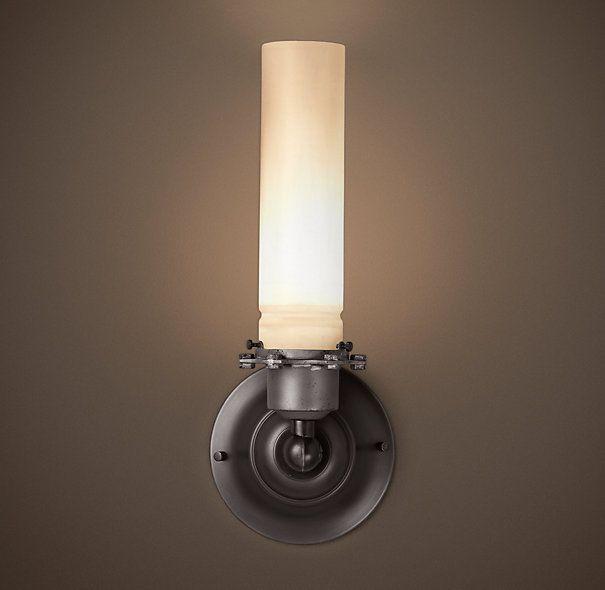 Restoration Hardware Modern Picture Light Sconce 30: 10 Best Images About Bathroom Lights On Pinterest