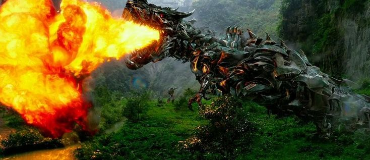Grimlock Tries to Show Up Godzilla in the New 'Transformers' Trailer