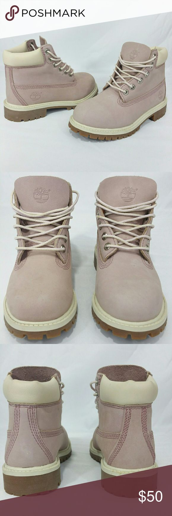 Girls Timberland Pink Sz 13 Boots 34792 suede Excellent Condition, sole like New Little Girls Size 13 Timberland Pink  Boots. Timberland Shoes Boots