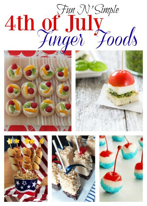 4th of july finger foods