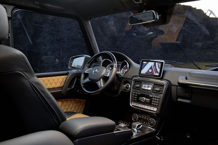 Mercedes G 63 AMG  It's like a luxury hotel in the move...