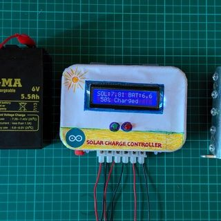 ARDUINO SOLAR CHARGE CONTROLLER (PWM)