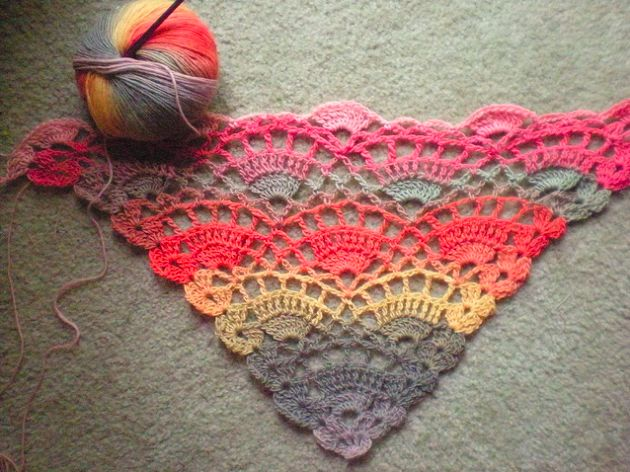 ➦ How do flower made of Crochet