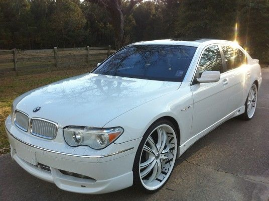 Unique Luxury Cars For Sale Near Me: 2003 BMW 745LI $29,500 - 100408132