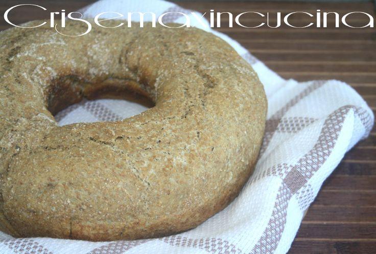 da oggi il pane integrale cotto nel fornetto versilia.