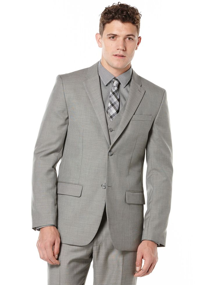 Perry Ellis Big and Tall Two Toned Twill Suit Jacket #MensShirts #MensShoes #MensUnderwear