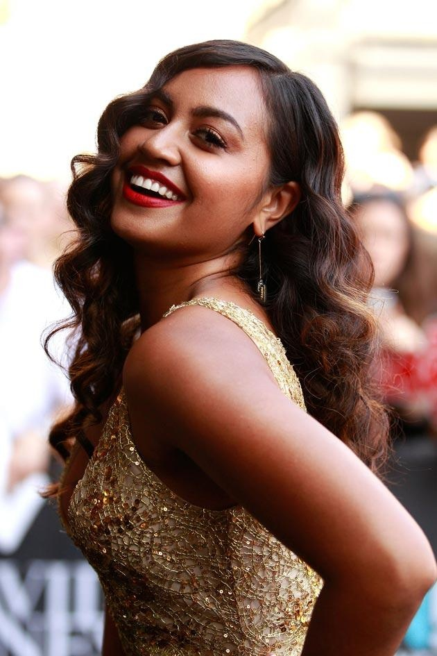 Jessica Mauboy. Our home grown DIVA. Keep knocking them dead Jess!