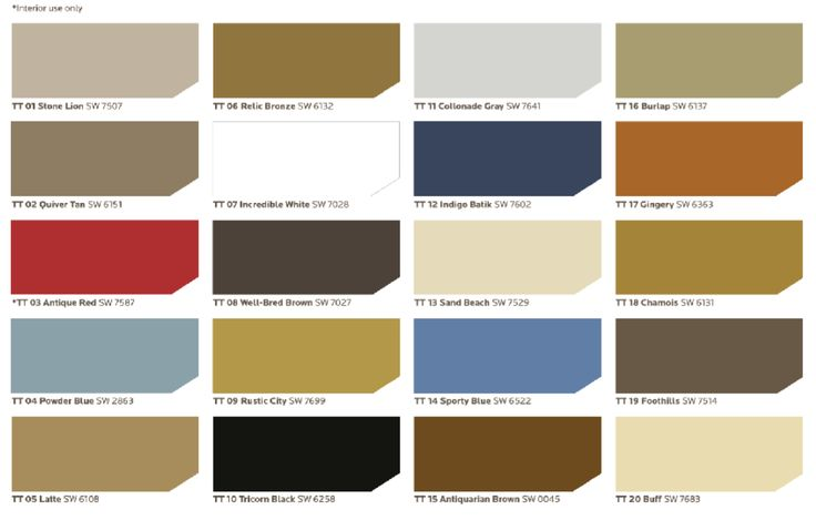 Sherwin Williams Traditional Twist Color Palette Every