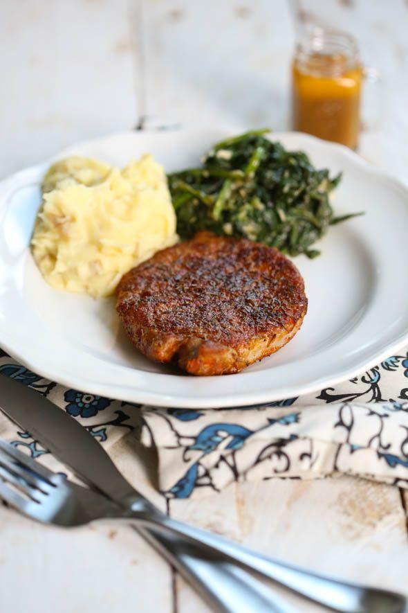 Blue Apron Spiced Pork Chops