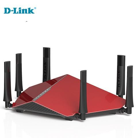 D-Link DIR-890L dlink 3200Mbs tri band six antenna 2.4G/5Ghz home wireless router fiber cloud ROUTER Strong coverage