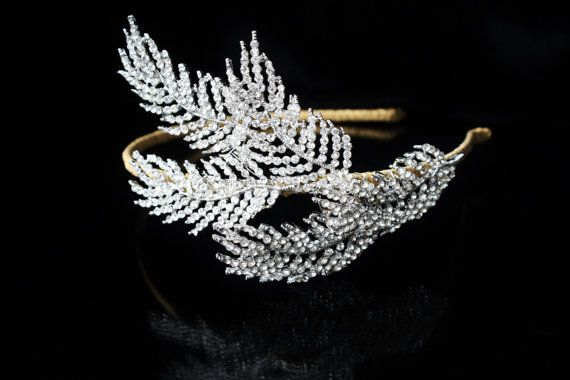 Wedding HairpieceHair AccessoriesVintage by BeautifulBeeTiaras, £69.00