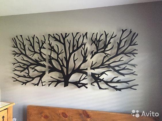 Пано на стену в виде дерева, арт. N230