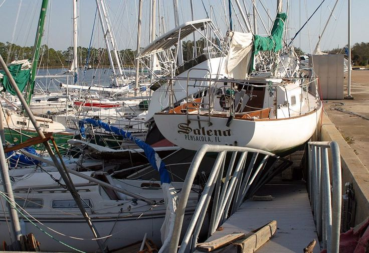 Advice for boat owners after hurricane