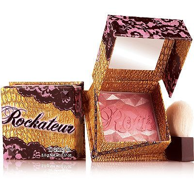 Benefit Cosmetics Rockateur Blush Box O' Powder Blush Rose Gold