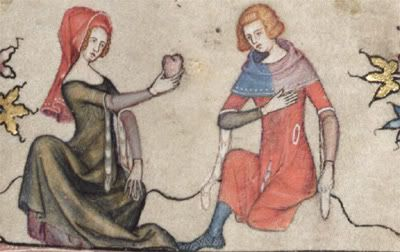 Another image from Bodleian Library MS Bodl. 264, a mid-fourteenth-century edition of the Romance of Alexander