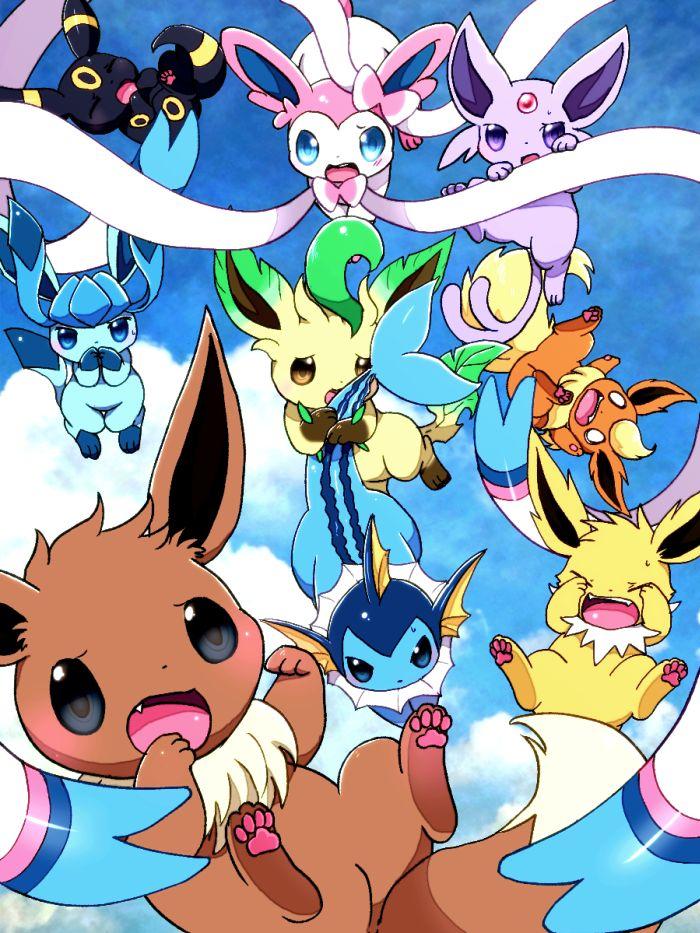 25+ bästa Pokemon 133 idéerna på Pinterest | Evoli shiny, Eeve och Pokémon