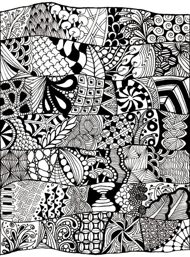 186 best Zen and Anti-stress coloring pages images on ...