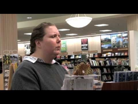 Crazy Chick Flips Out in Barnes & Noble. I hate when they dont have the book I want!! LMAO