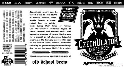 mybeerbuzz.com - Bringing Good Beers & Good People Together...: Bohemian Brewery - CzechUlator Doppelbock 12oz Can...