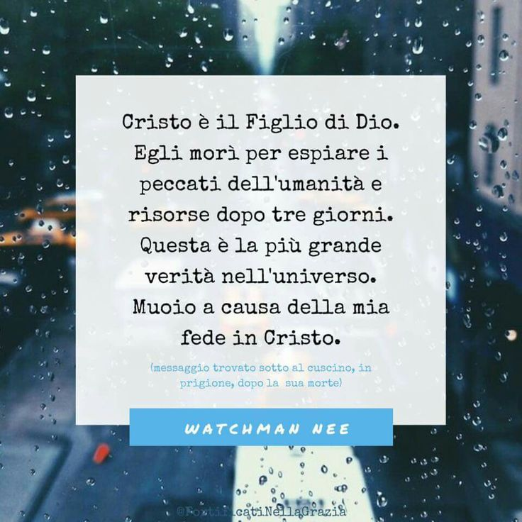 #WatchmenNee #frasicristiane #Gesù #Cristo #cristianesimo #salvezza #citazioni #citazionicristiane #persecuzione #graziegesù #bornagain #fortificatinellagrazia