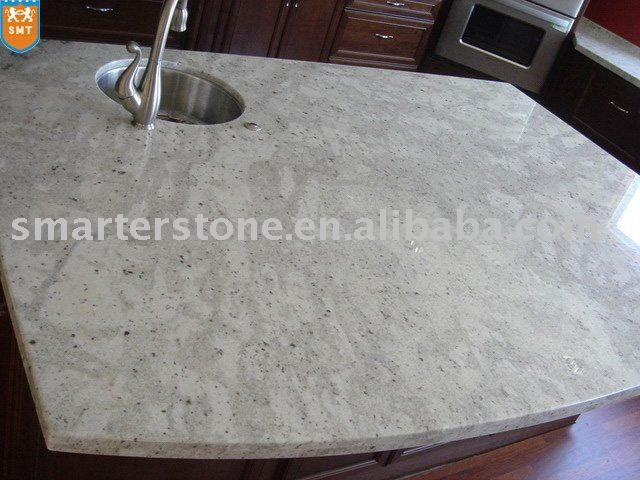 White Silver Granite Countertop : Granite Colors, Countertops White, White Granite Countertops, Kitchens ...