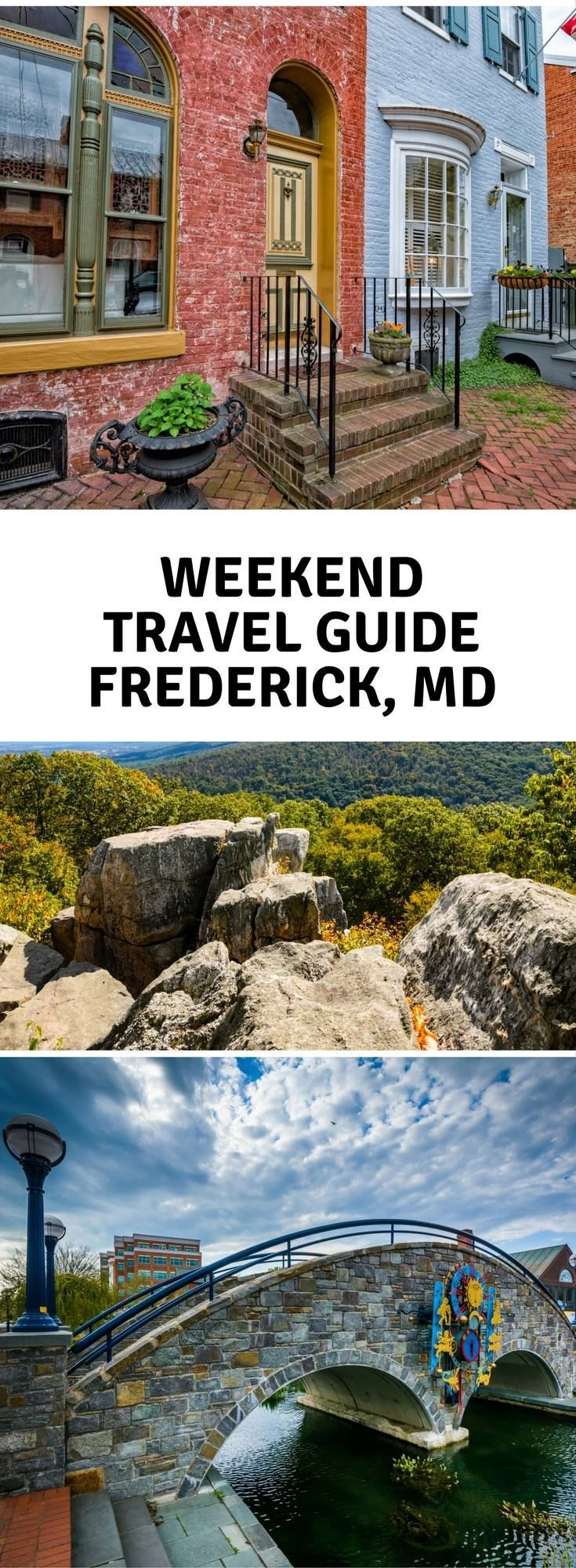 The best restaurants, hotels, and things to do in Frederick, Maryland via DopesontheRoad.com