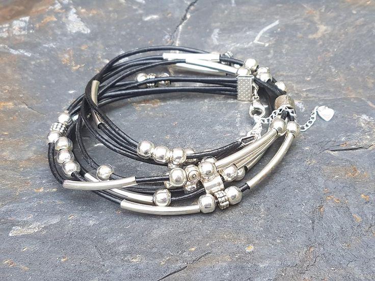 Gorgeous beaded wrap bracelet