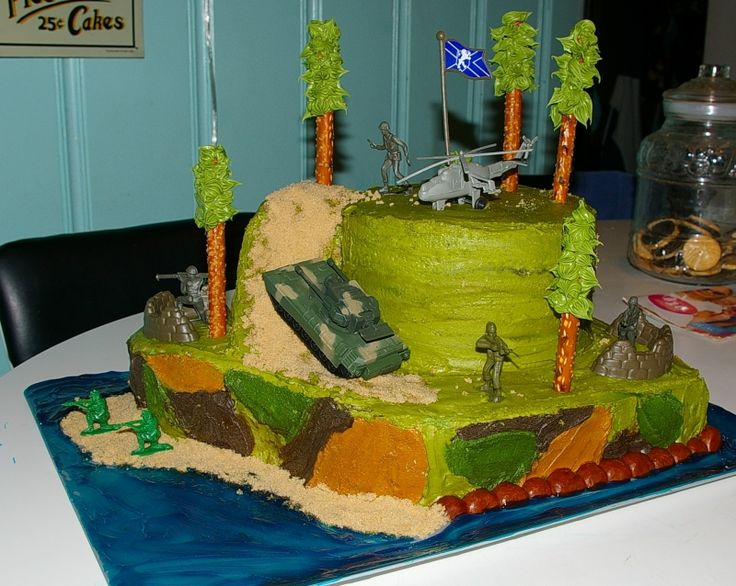 Hunting Cake Decor : 17 Best ideas about Camo Birthday Cakes on Pinterest ...