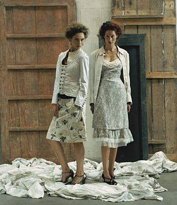 Landligt: Romantische kleding, I love it