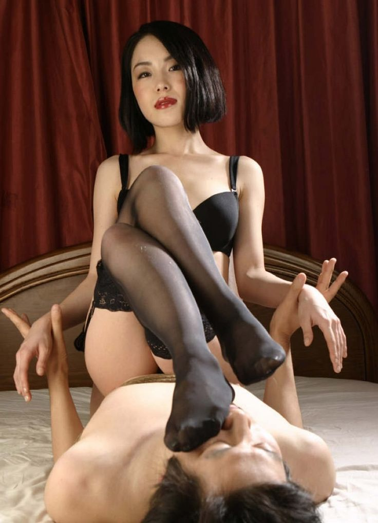 Asian Nylon Fetish 57