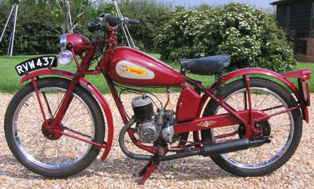 antique motorcycles for sale | 1950 James Comet 98cc Classic Motorcycle For Sale