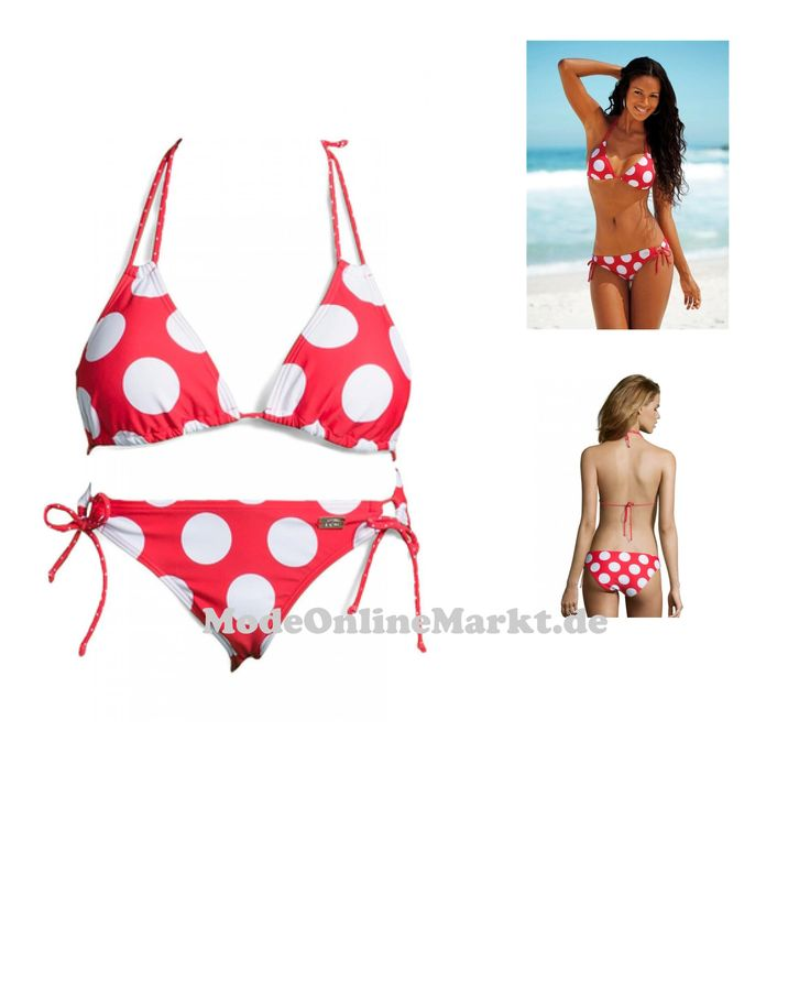 4893865321573 | #BUFFALO #Damen #Triangel-Bikini #rot