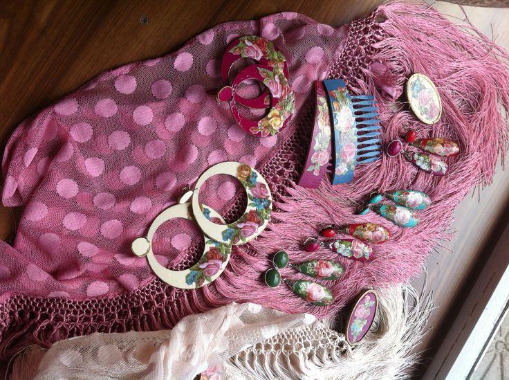 #Complementos Flamenca colección @Maria Canavello Mrasek de los Angeles Costa Garrido #modaflamenca