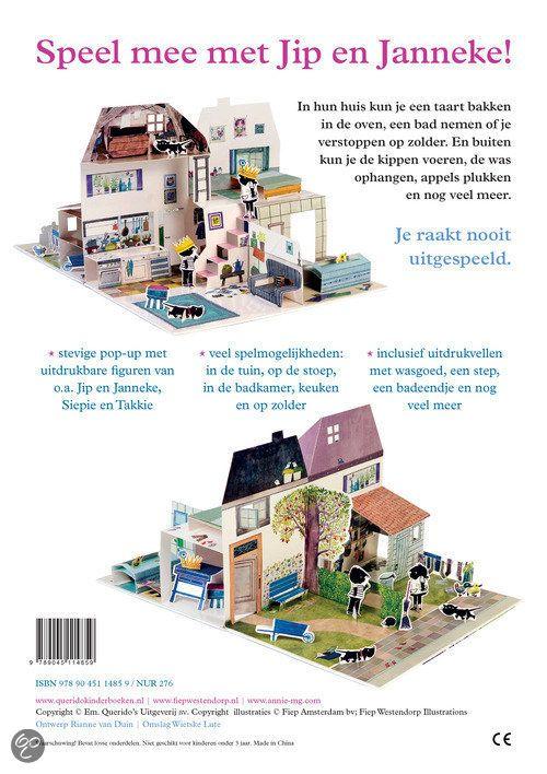 #Boekentip Papiergoed nr. 11: Het huis van Jip en Janneke   Is het een boek? Er zit een kaft omheen, is het dan een boek? Maakt het uit? Het is een totaal belevenis!