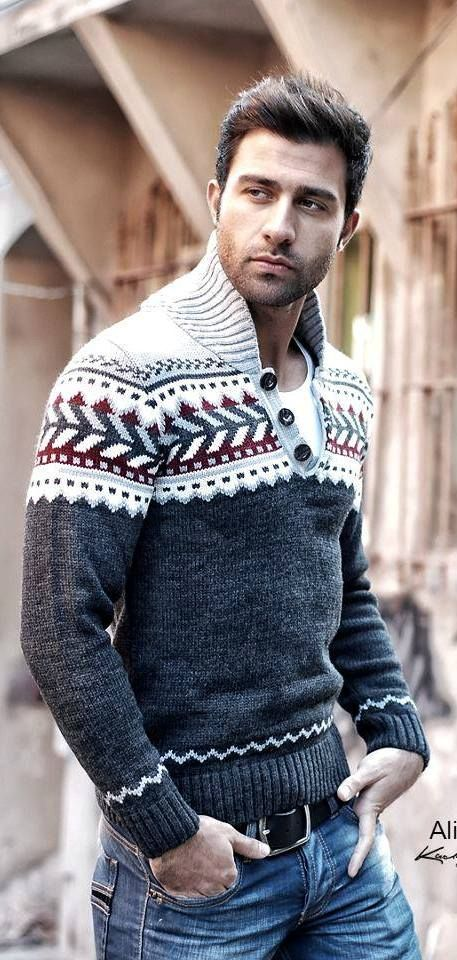 Men's Fashion // i just love the sweater