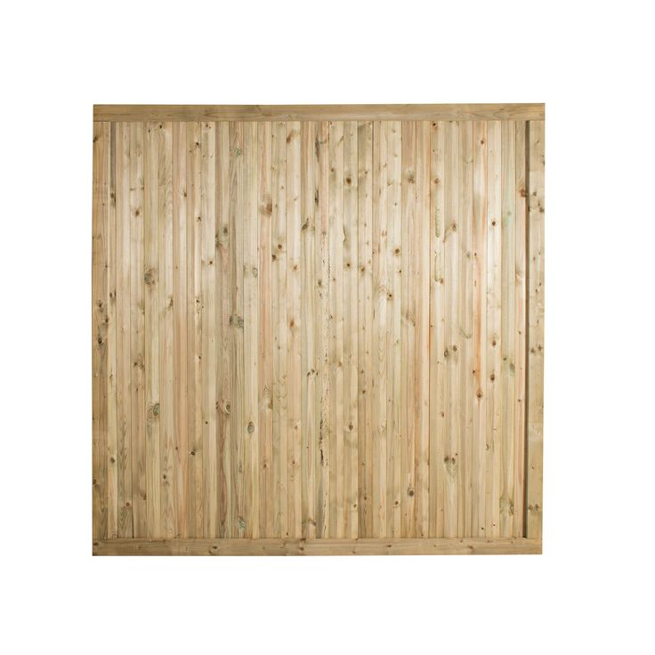 Forest Garden Decibel Noise Reduction Fence Panel (W)1.83 M (H)1.8M, Pack of 3 | Departments | DIY at B&Q