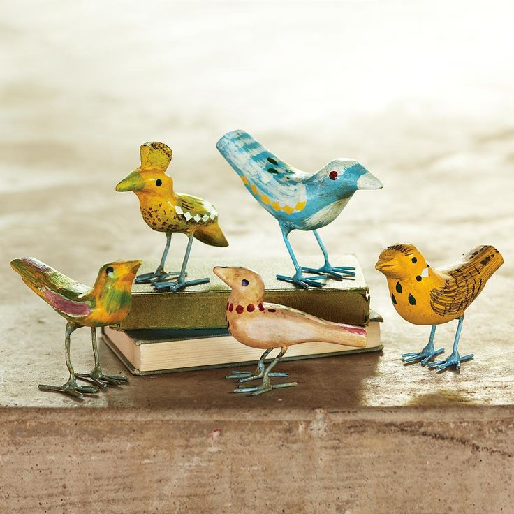 Winged Whimsy, Set of 5