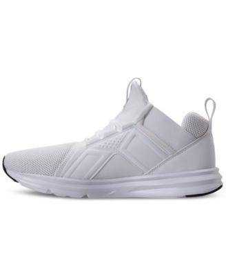 Puma Men's Enzo Mesh Casual Sneakers from Finish Line - White 10.5