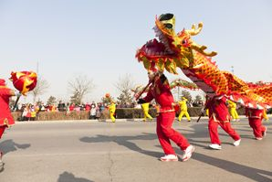 Dragon Dances for Chinese New Year — North and South Styles