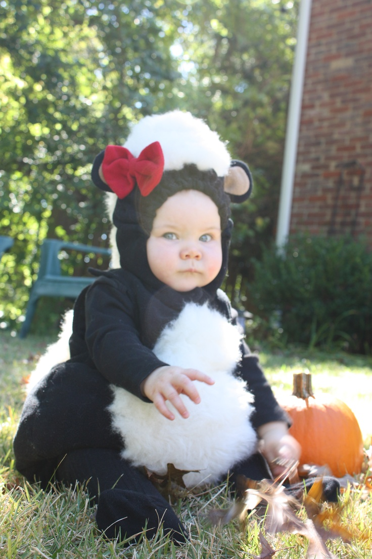 87 best skunk costume for baby images on pinterest baby