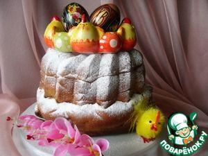 "Пышный кекс ""Венок"""
