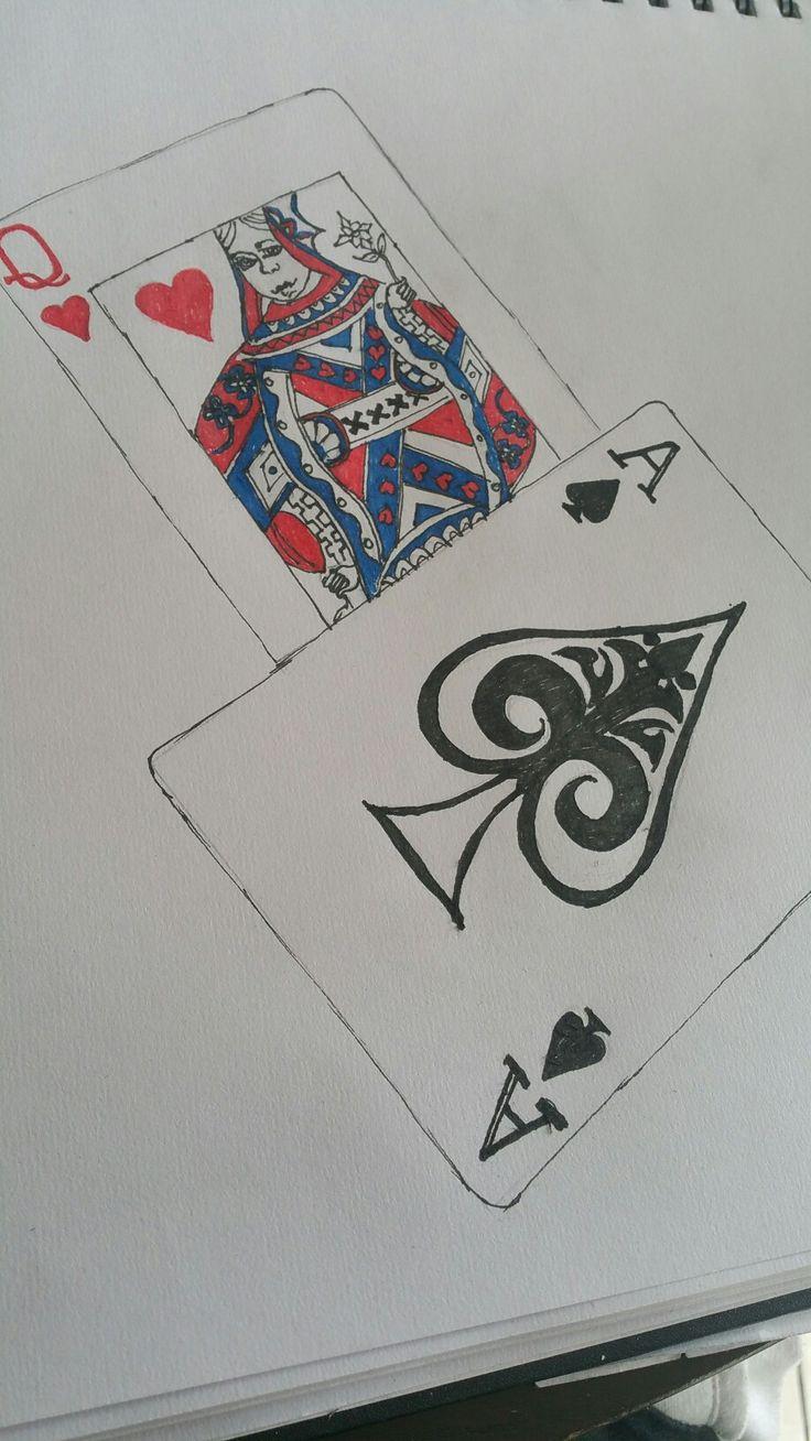 Card pen art