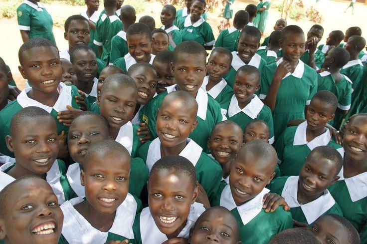 Girls at Kuna in uniforms #lwalacommunityalliance