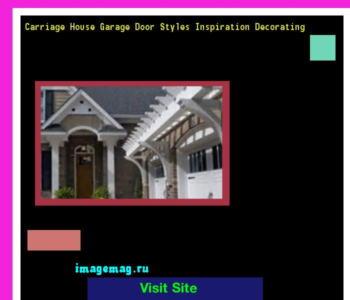 Carriage House Garage Door Styles Inspiration Decorating 084942 - The Best Image Search