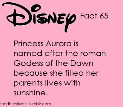 The Disney Facts:  And the fix-it notes I HAVE to put in.  *Roman  *goddess