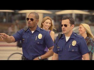 Let's Be Cops: Deleted Scene: Roller Blader -- -- http://www.movieweb.com/movie/lets-be-cops/deleted-scene-roller-blader